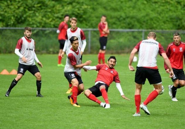 مینی اردوی یاران گوچی در اتریش و بازی با حریف ترکیهای