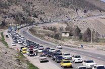 ترافیک مسیر هراز سنگین است/ هراز یک طرفه شد