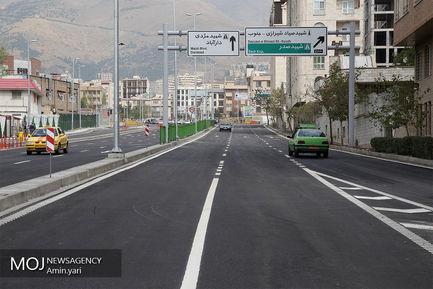 افتتاح قطعه شمالی بزرگراه شهید صیاد شیرازی