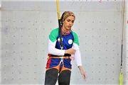 مقام نخست سنگ نورد هرمزگانی در مسابقات انتخابی تیم ملی