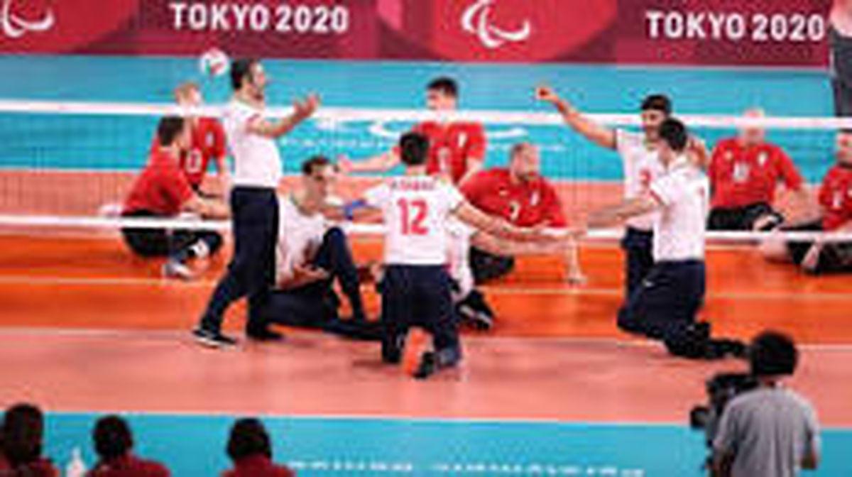 تیم ملی والیبال نشسته با اقتدار قهرمان پارالمپیک شد