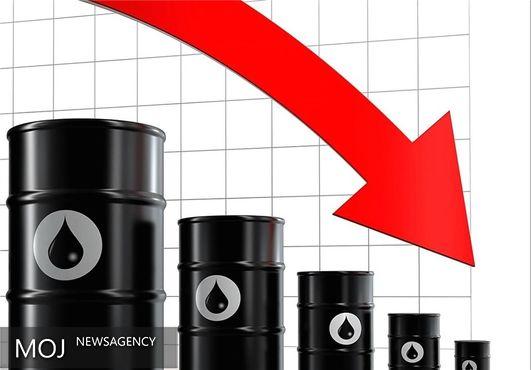 نفت کمتر از ۴۵ دلار شد