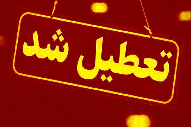 تمام اصناف غیر ضروری در یزد چهار روز تعطیل شد