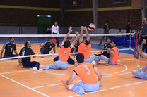 تیم والیبال نشسته ایران در دیدار تدارکاتی برابر هلند به پیروزی رسید