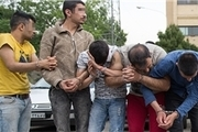 زورگیرهای حرفه ای منطقه سیزده آبان دستگیر شدند