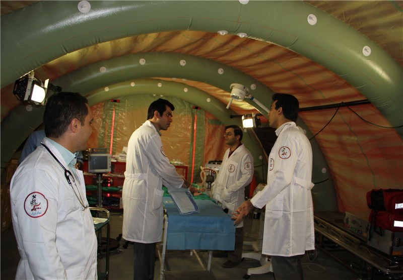 Image result for بیمارستان صحرایی