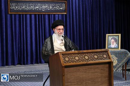 سخنرانی تلویزیونی مقام معظم رهبری به مناسبت عید قربان