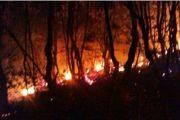 آتش سوزی جنگل «اشکته چال» رامسر مهار شد