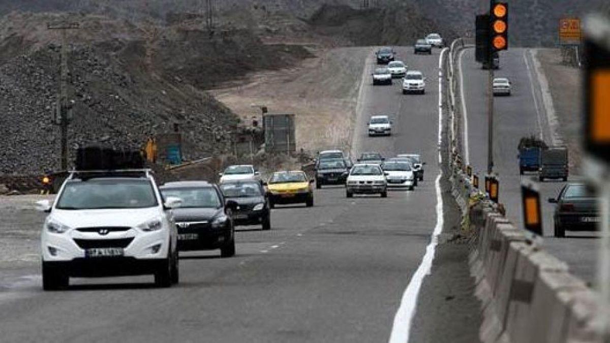 آخرین وضعیت جوی و ترافیکی جاده های کشور در ۱۳ فروردین ۱۴۰۰