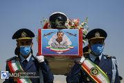 استقبال از پیکر خلبان شهید بیرجند بیک محمدی