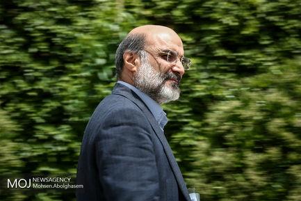 حاشیه جلسه هیات دولت -  ۱۸ اردیبهشت ۱۳۹۸/عبدالعلی علی عسگری رییس سازمان صداوسیما