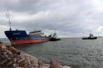 نجات کشتی تجاری ارکیده  از غرق شدگی