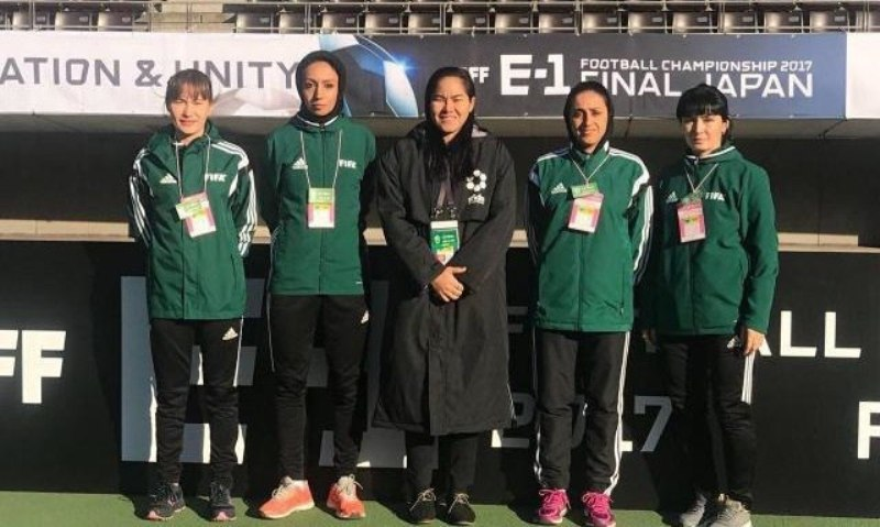 داوران زن ایرانی دیدار رده بندی جام ملت های آسیا را قضاوت می کنند