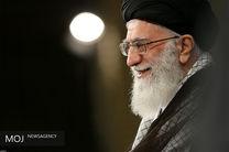 دیدار جمعی از خانوادههای شهدای مرزبانی و مدافع حرم با مقام معظم رهبری