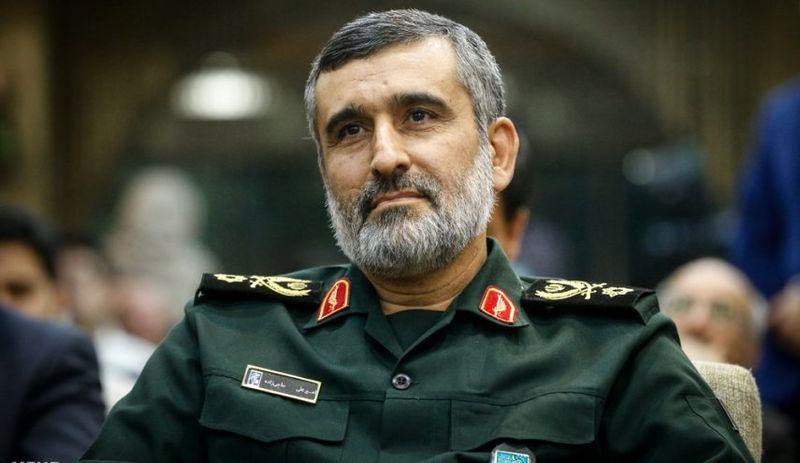 دیدار فرمانده پدافند هوایی عراق با سردار حاجی زاده