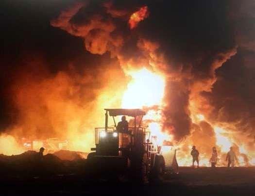 انفجار 7 گالن اسید در خمینی شهر / مصدوم شدن 2 نفر