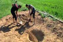 مسدود کردن داوطلبانه چاه غیر مجازدر نجف آباد