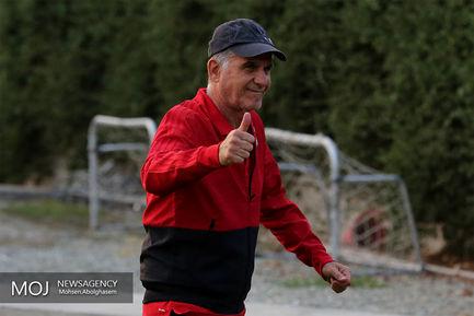 تمرین+تیم+ملی+فوتبال++-+۱۵+مهر+۱۳۹۷_کارلوس+کیروش