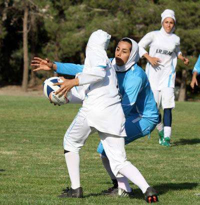 برگزاری مسابقات لیگ برتر راگبی بانوان قهرمانی کشور در کرمانشاه