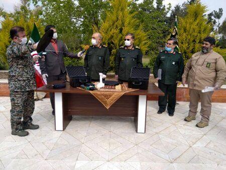 آیین رونمایی از دستاوردهای جدید سپاه در تشخیص کرونا برگزار شد