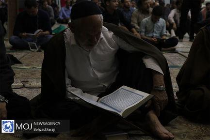 احیای شب نوزدهم ماه مبارک رمضان در کرمانشاه