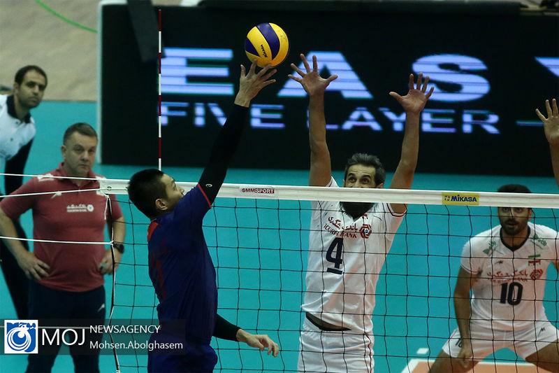 پخش زنده بازی والیبال ایران و چین از شبکه سه سیما