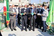 افتتاح مجموعه فرهنگی ورزشی پالایشگاه نفت بندرعباس در روستای بارغین خونسرخ