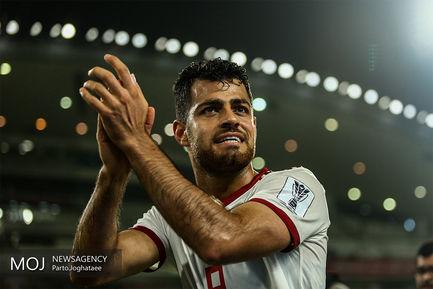 دیدار تیمهای ملی فوتبال ایران و چین/مرتضی پورعلی گنجی