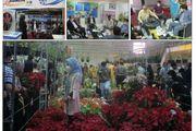 بازدید رییس و معاونان نظام مهندسی کشاورزی یزد از نمایشگاه گل و گیاه