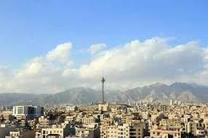 شاخص کیفی هوای تهران به 82 رسید/ باد و باران به داد پایتخت رسید