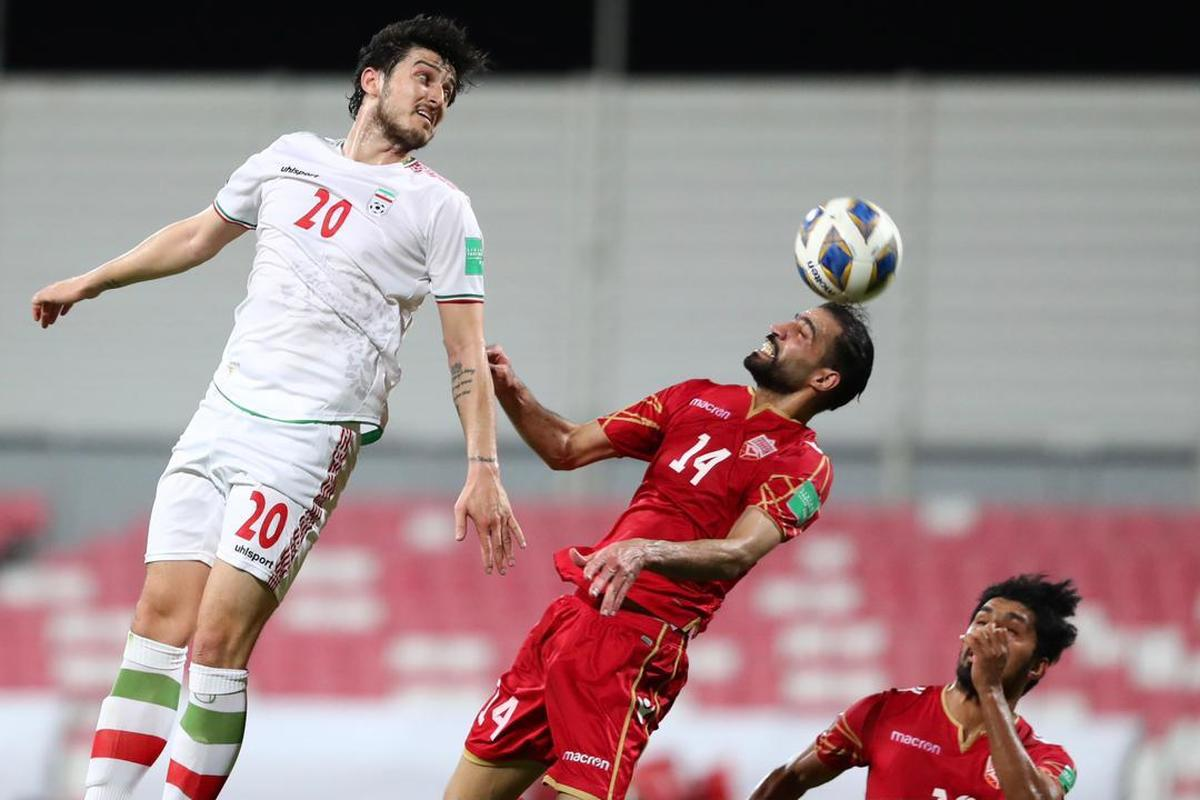 نتیجه بازی فوتبال ایران و بحرین در نیمه نخست