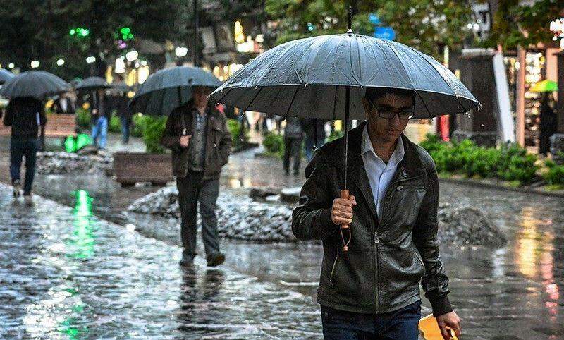 روزهای پر بارش در راه  البرز
