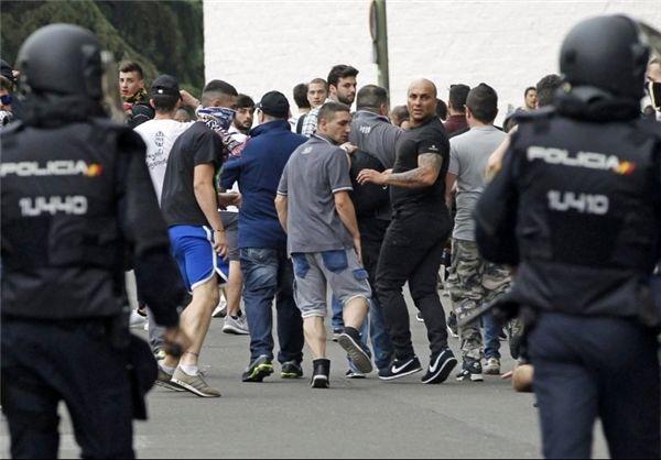 تدابیر شدید امنیتی در مادرید در آستانه جدال اتلتیکو و لستر