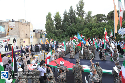 اجتماع مردمی حمایت از مردم مظلوم غزه در قم