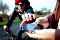 دو سارق موبایل حین وقوع جرم دستگیر شدند