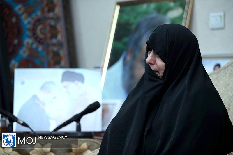 تکذیب صدای منتسب به همسر شهید سردار قاسم سلیمانی
