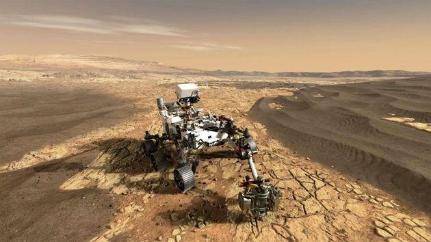 رونمایی از مریخنورد جدید ناسا