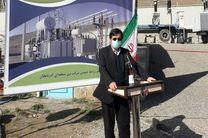 نخستین واحد بخار پروژه سیکل ترکیبی نیروگاه سبلان اردبیل افتتاح شد