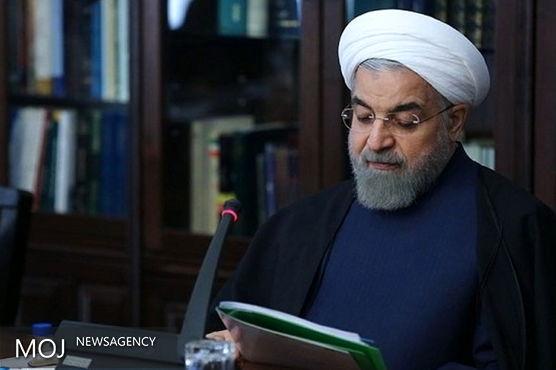 روحانی قهرمانی تیم ملی کشتی آزاد ایران را تبریک گفت