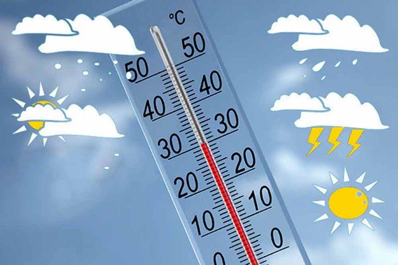 کاهش دمای همدان