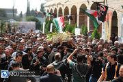 تشییع پیکر شهید گمنام در کمیته امداد امام خمینی(ره)
