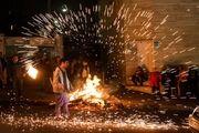 نکات ایمنی جمعیت هلال احمر استان اصفهان برای مراسم چهارشنبهسوری