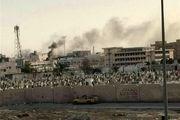 نظامیان سعودی مسجد «عین الحسین» را تخریب کردند