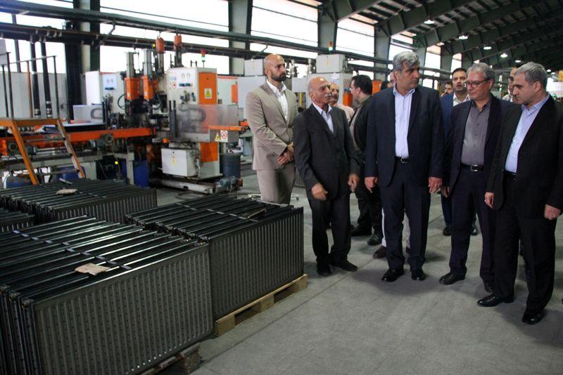 بزرگترین واحد تولید کولر اسپلیت کشور افتتاح  شد