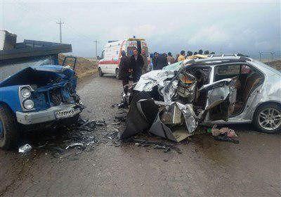 65.6 درصد از تصادفات در روز اتفاق می افتد