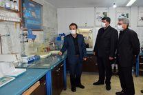 افتتاح نخستین  آزمایشگاه اندازه گیری سموم و ترکیبات نفتی در اردبیل