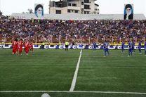 دیدار تیم های سپیدرود رشت و سیاه جامگان مشهد با حضور 5 هزار تماشاگر برگزار می شود