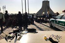 میدان آزادی از معتادان متجاهر و کارتن خواب ها پاکسازی شد