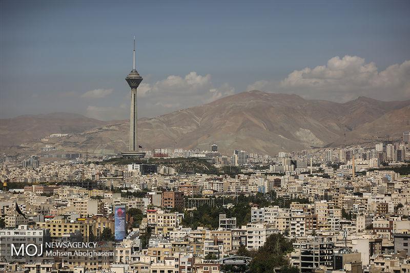 کیفیت هوای تهران در 19 فروردین 98 سالم است