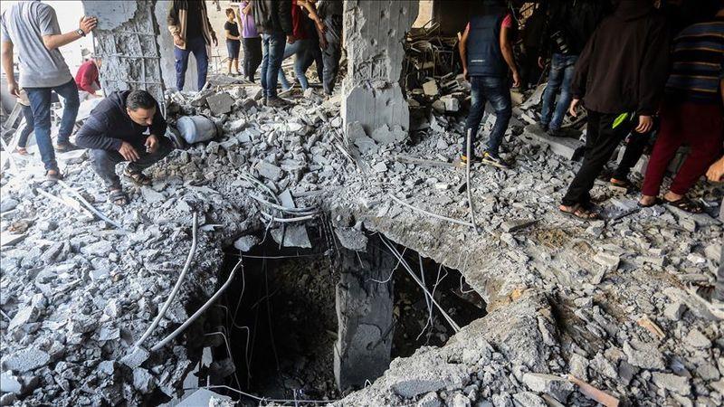 رژیم صهیونیستی به 320 نقطه در نوار غزه حمله هوایی کرده است